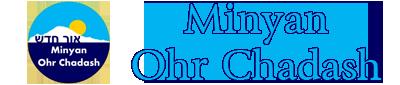 Minyan Ohr Chadash Logo